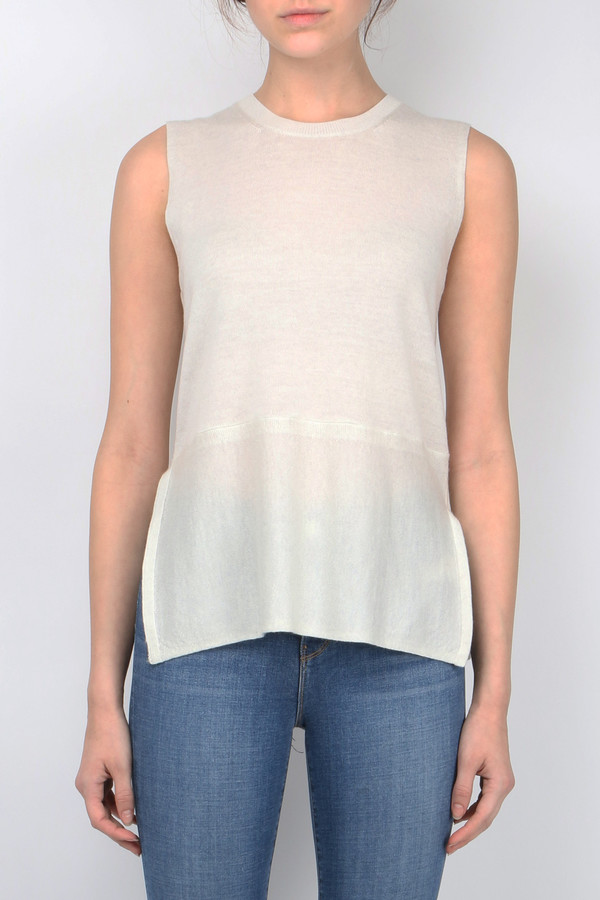 Cathrine Hammel Sleeveless Top Twinset
