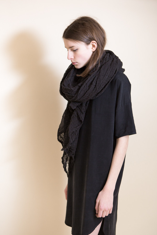 Scarf Shop Cotton Giant Scarf / Soot