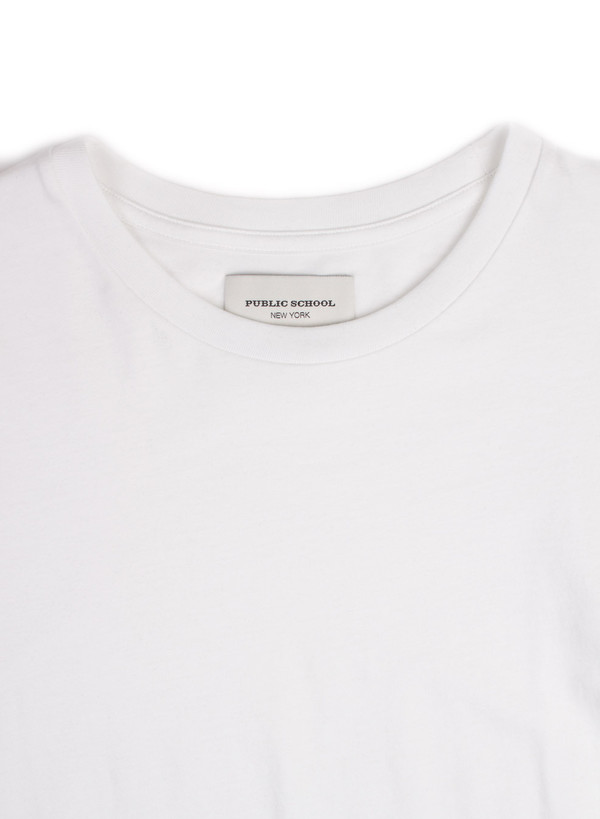 Men's Public School Lane T-Shirt White