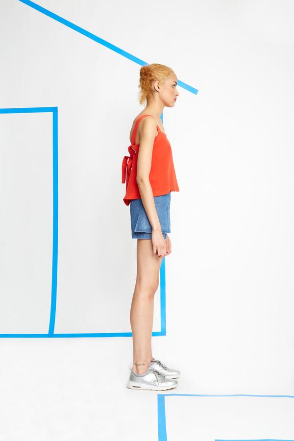 Carleen Apron Shorts