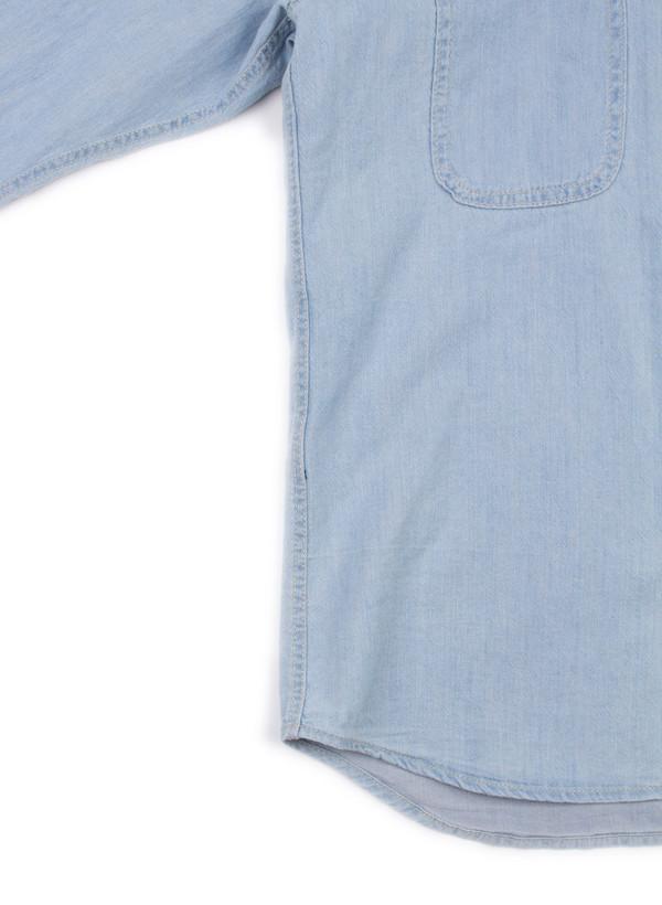 Men's Bleu De Paname Chemise 2 Poches Bleached