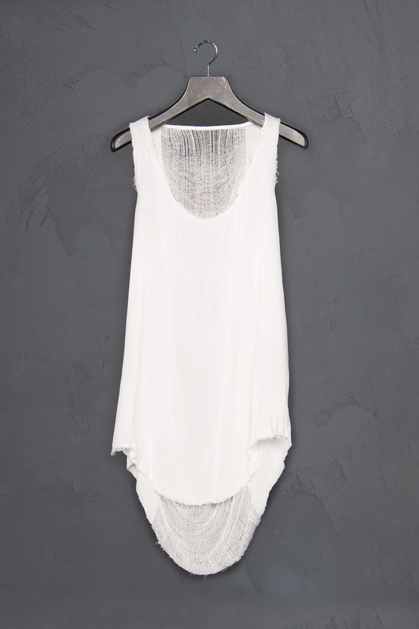 Raquel Allegra Shred Back Combo Tank