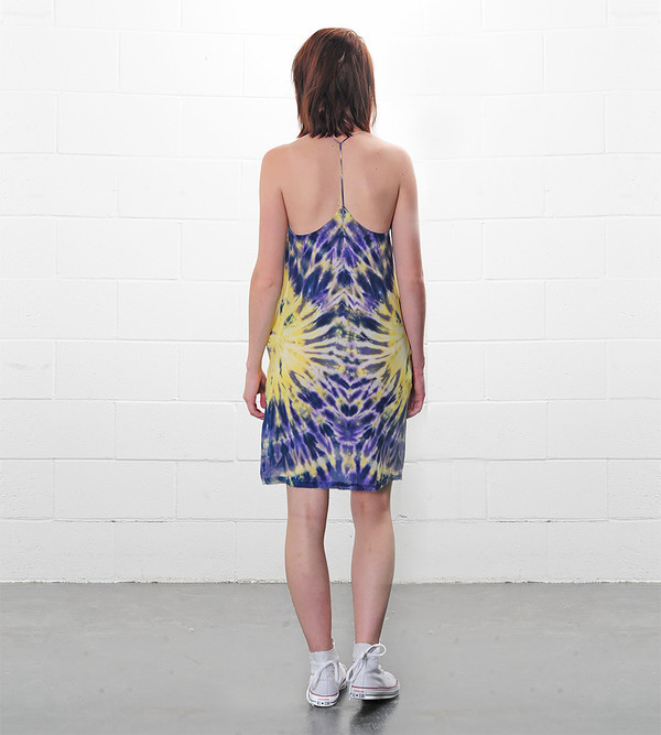 Raquel Allegra T-Back Spaghetti Dress