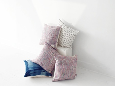 Scout & Catalogue  CASA BONITA CUSHIONS - RAINBOW SILK