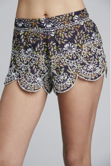 Free People Intimates So Much Fun Shorts - Purple Combo