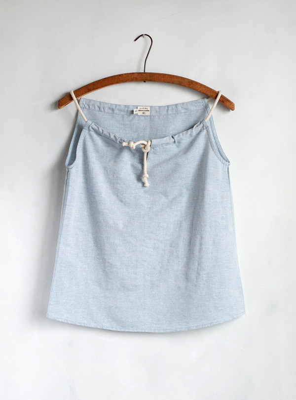 bridge & burn Cora Chambray Tank