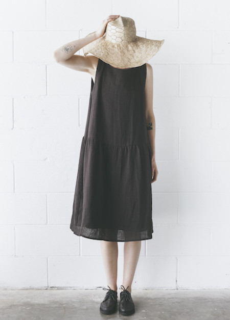 Ursa Minor - Degas Dress in Black