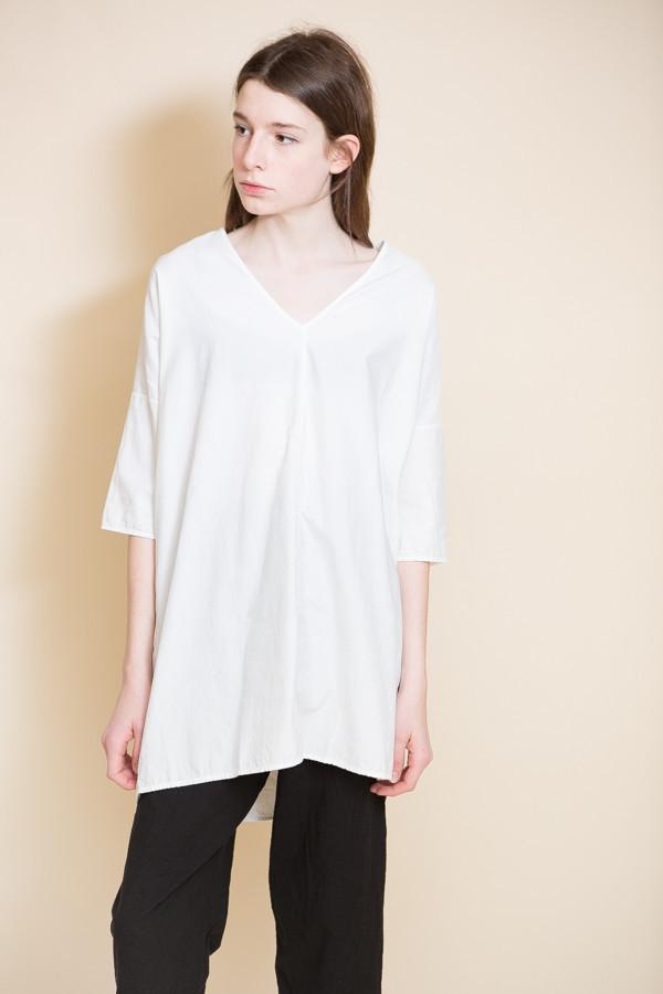 Ali Golden Kimono Tunic / White