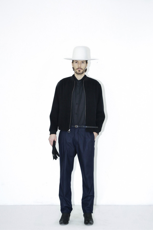 Westerlind Felt Wide Brimmed Hat - White