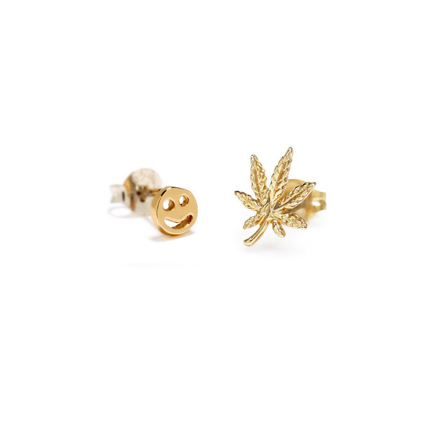 Bing Bang NYC - Happy Mary Jane Studs