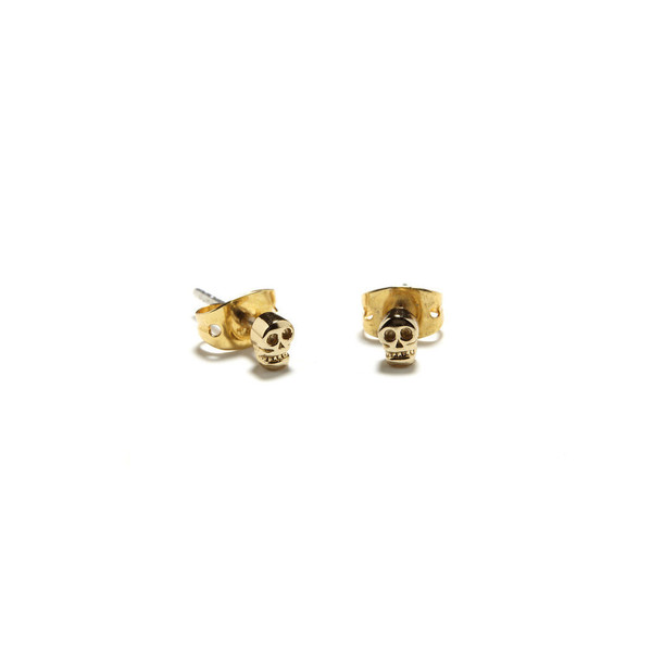 Bing Bang NYC - Tiny Skull Studs