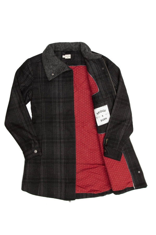 Bridge & Burn Alameda Plaid