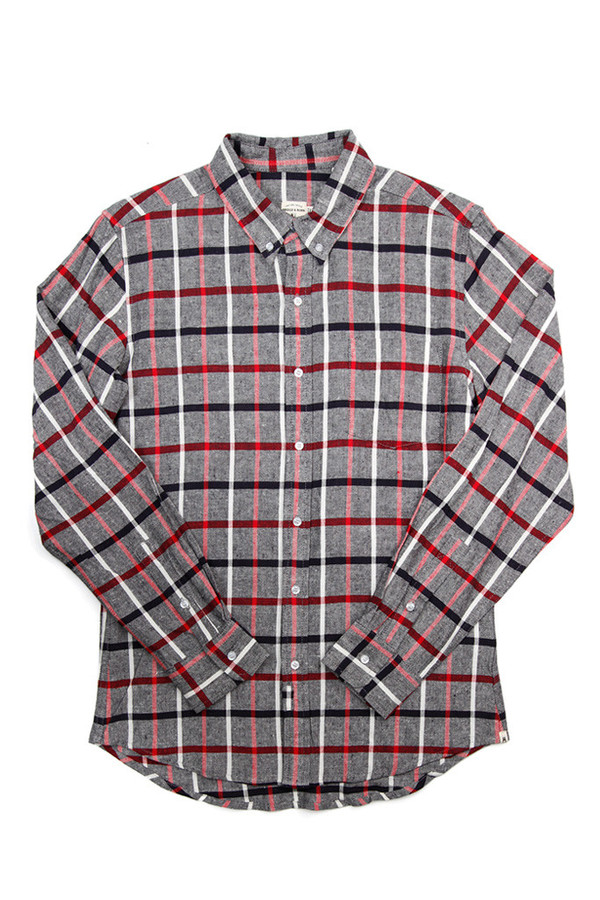 Men's Bridge & Burn Fulton Patriot Plaid