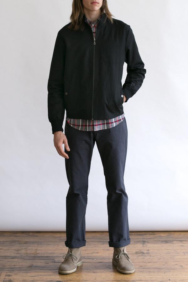 Men's Bridge & Burn Hayden Black Jacket