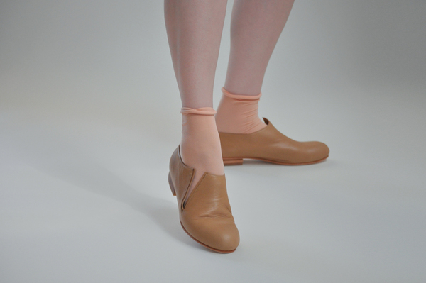 The Palatines Forte Open Bootie - tan leather