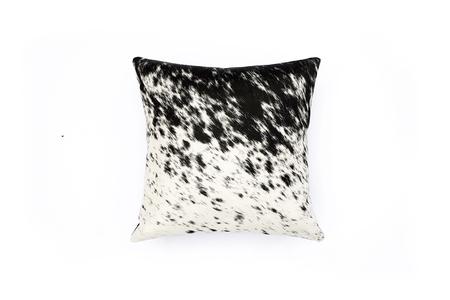 Primecut Salt + Pepper Cowhide Pillow