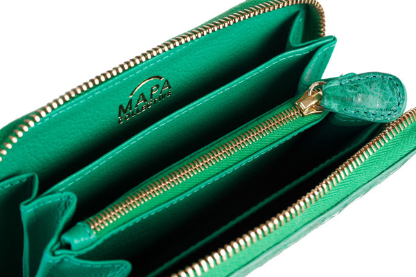 MAPA Collective The Mini Zipper Wallet (Crocodile)