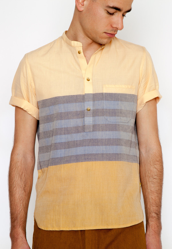 Men's New Market Goods Gabtoli Popover Shirt