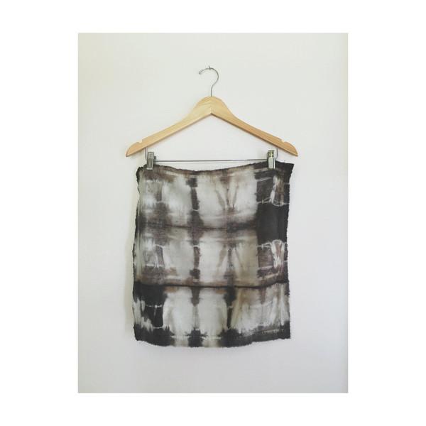 Rise & Ramble: Charcoal Shibori Dyed Napkin Set