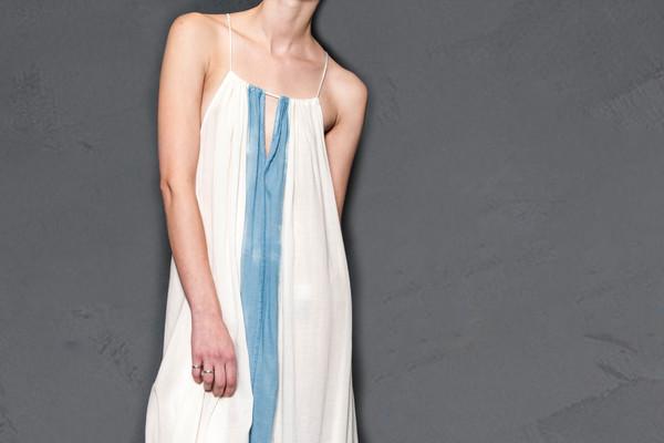 KES Strings Organic Maxi Dress Collab