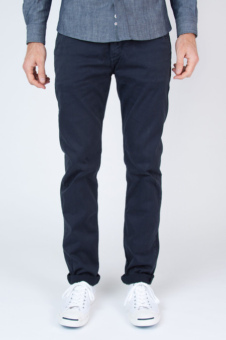 Men's Velour by Nostalgi Adan Chino Navy