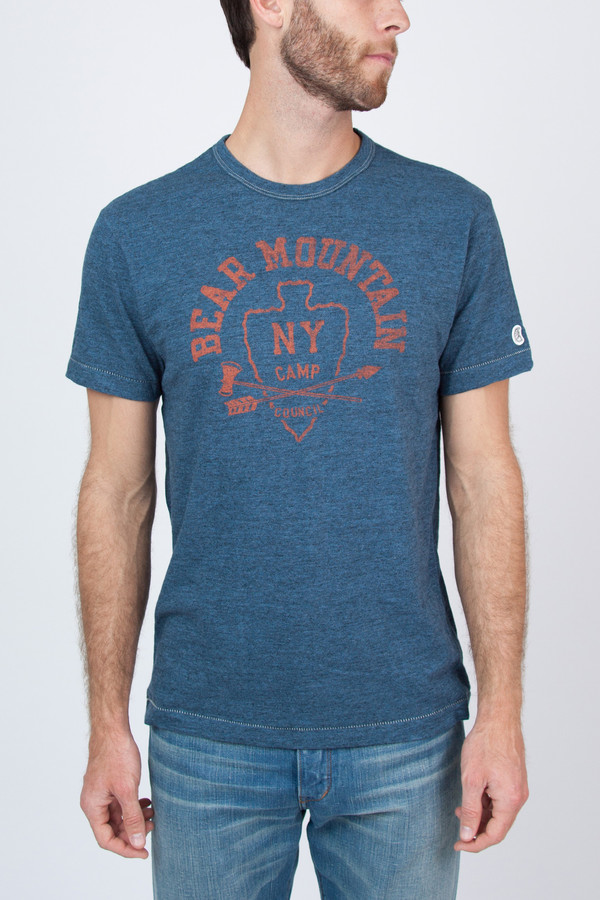 Men's Todd Snyder Champion Bear Mountain Tee