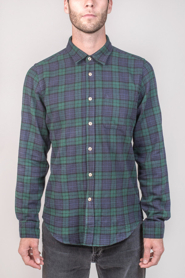Men's Portuguese Flannel Bonfim Flannel Shirt