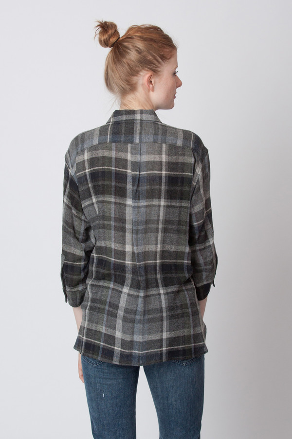Steven Alan Cross Over Shirt