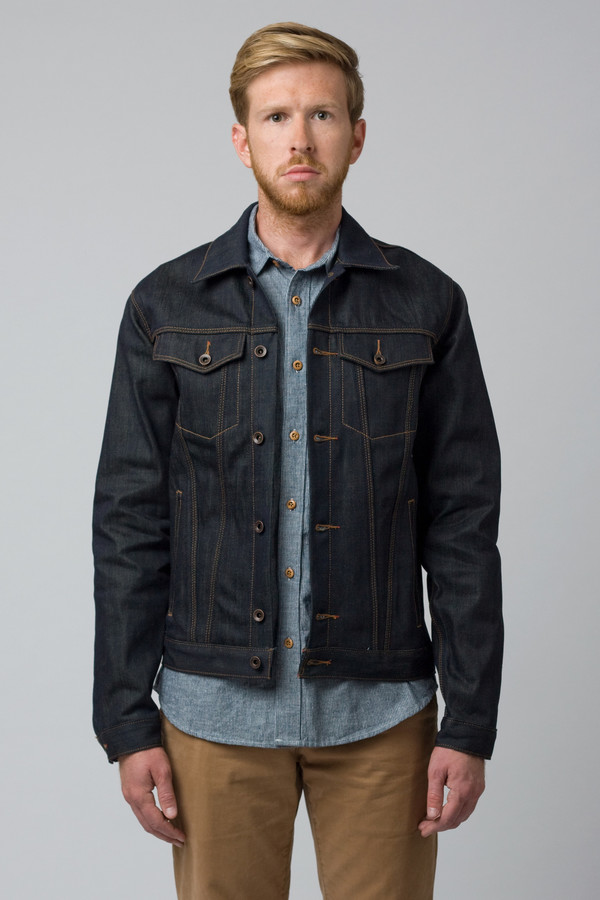 Men's Raleigh Denim Denim Jacket Original Selvage