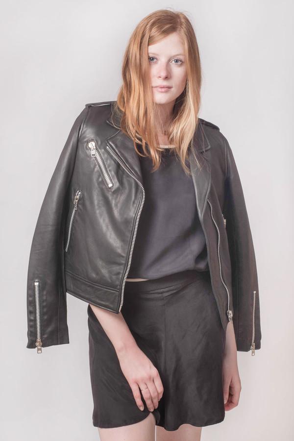 Won Hundred Manilla Leather Jacket