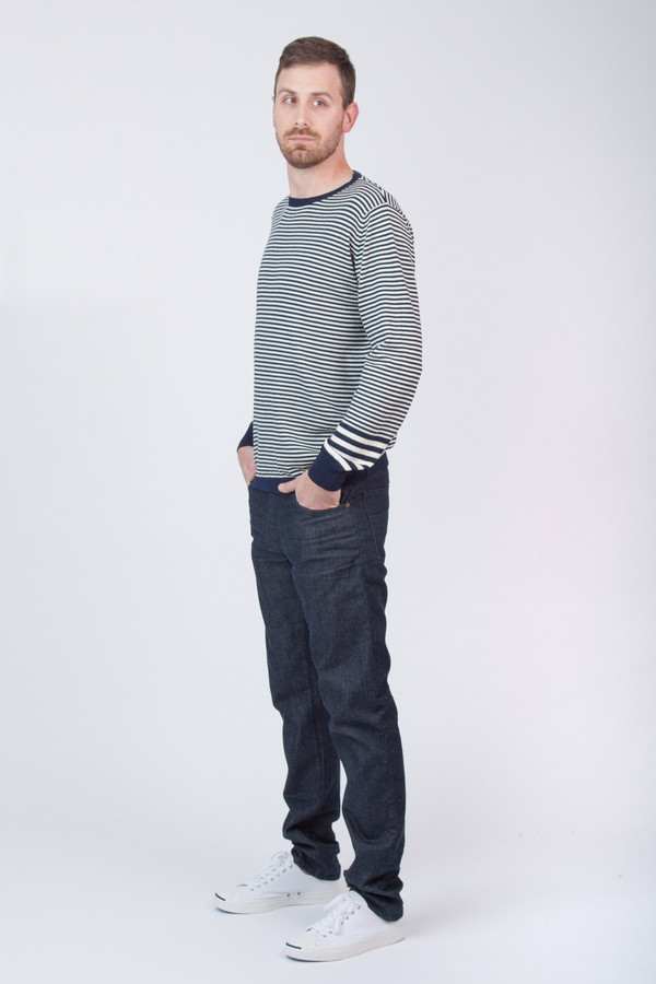 Men's Chinti and Parker Merino Stripe Sweater