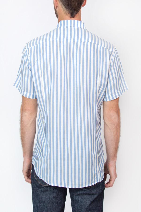 Men's Corridor Painted Stripe Short Sleeve Shirt