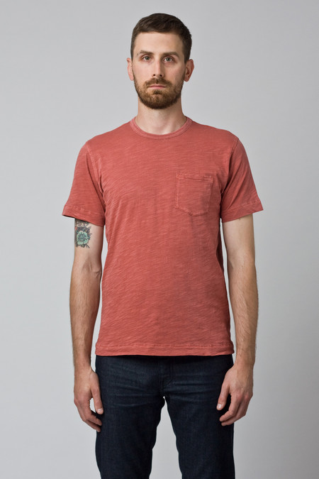 Men's YMC Pocket Tee Red