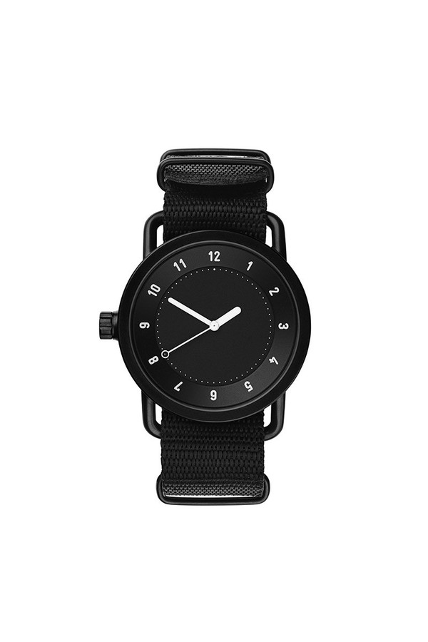 TID Watches TID No.1 Black / Black Nylon Wristband