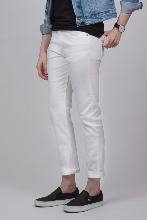 Won Hundred Two Jeans White