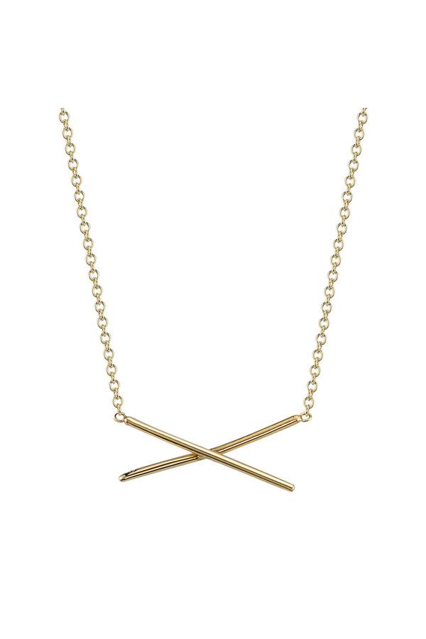 Gabriela Artigas X Necklace 14k Yellow Gold