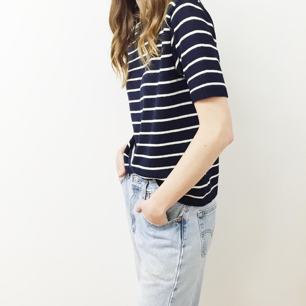 Johan Vintage Striped Sweater T-shirt