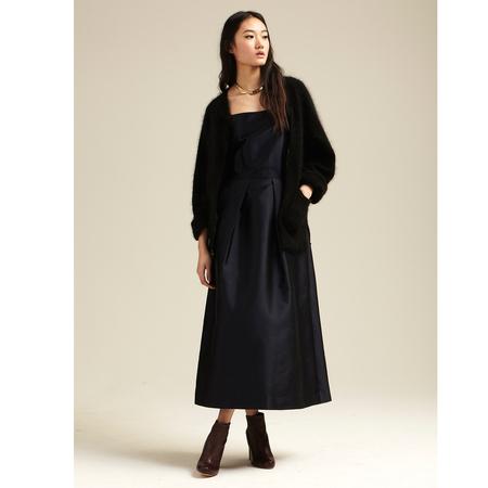 Nikki Chasin Darling Fete Dress - Dark Navy