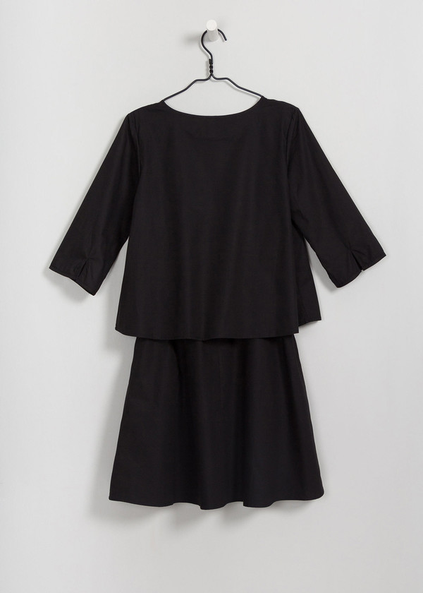 Kowtow Stack Dress in Black