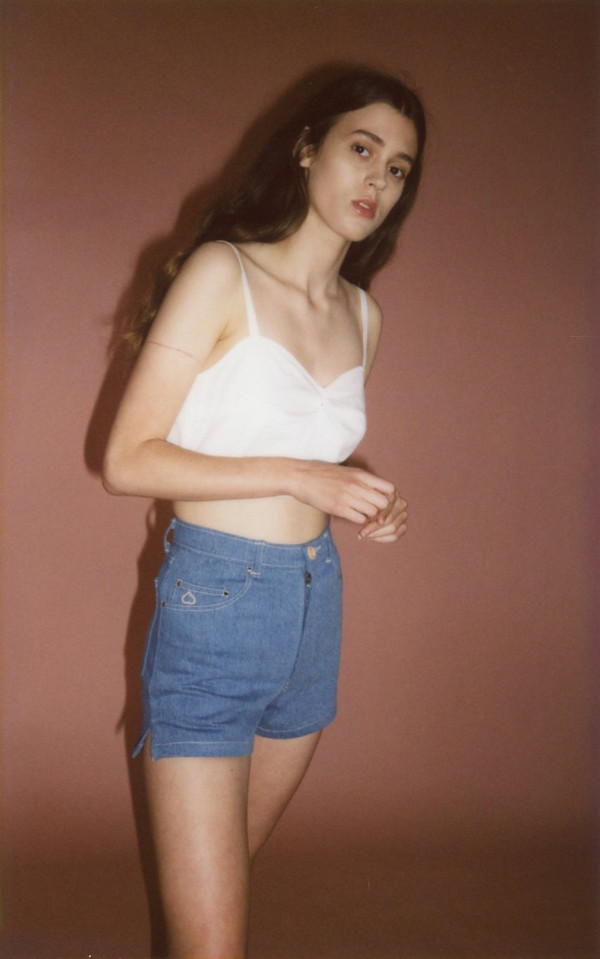 Samantha Pleet Isle tank - ivory