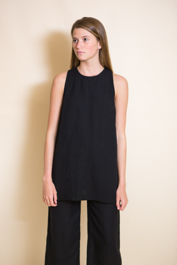 First Rite Tunic Tank / Black