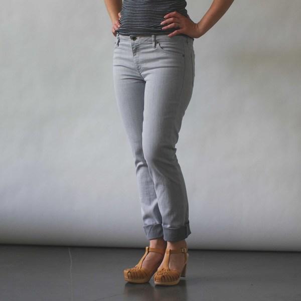 Raleigh Denim Workshop Surry Skinny Jeans in Quartz