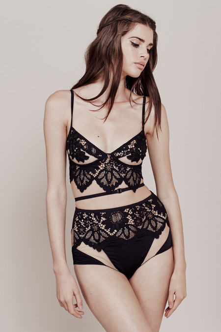 For Love and Lemons RUBY UNDERWIRE BRALETTE