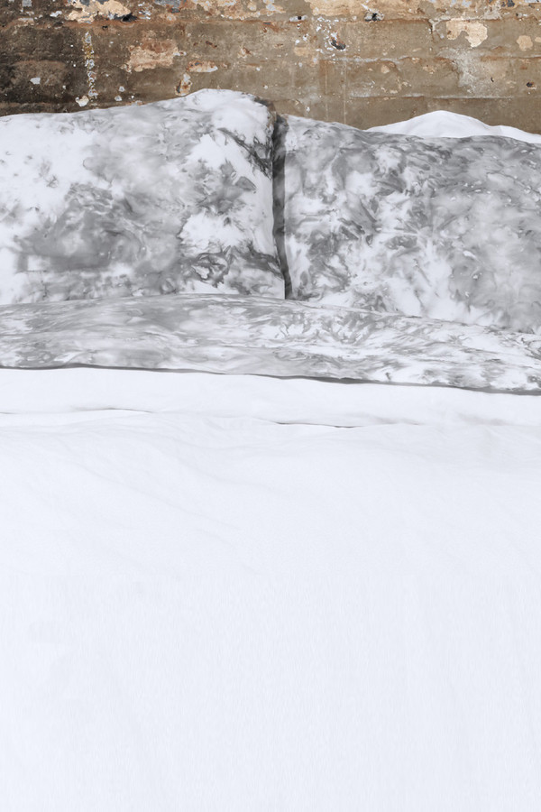 Saint Atma Grey Gradient Mist Bedding