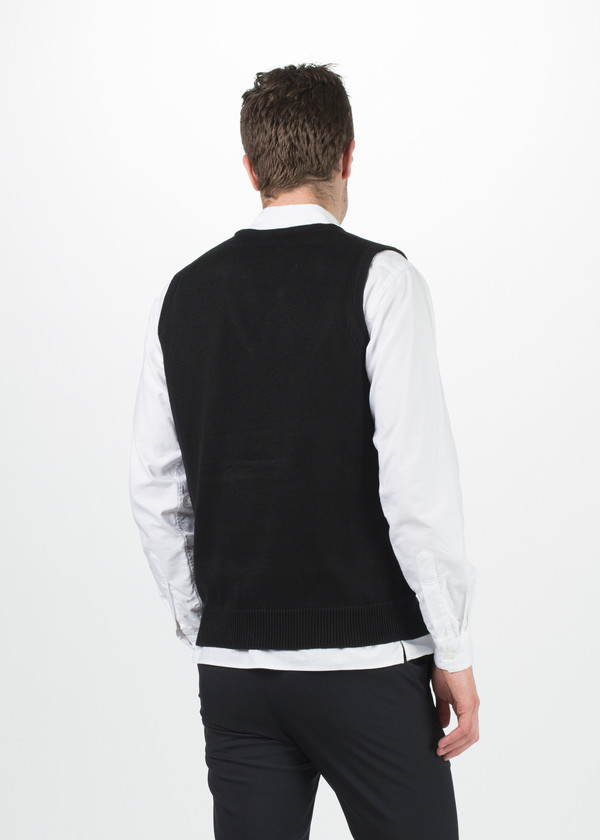 Men's Margaret Howell V-Neck Linen Vest
