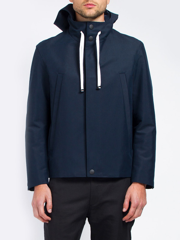 Carlos Campos Hooded Canvas Jacket