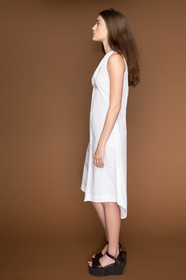 Ajaie Alaie Slip On Shirt Dress