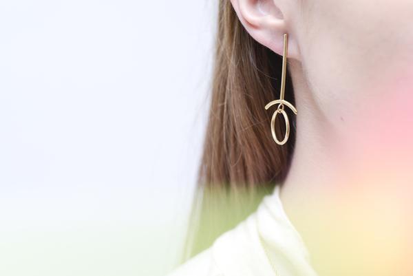 Seaworthy Retrograde Earring