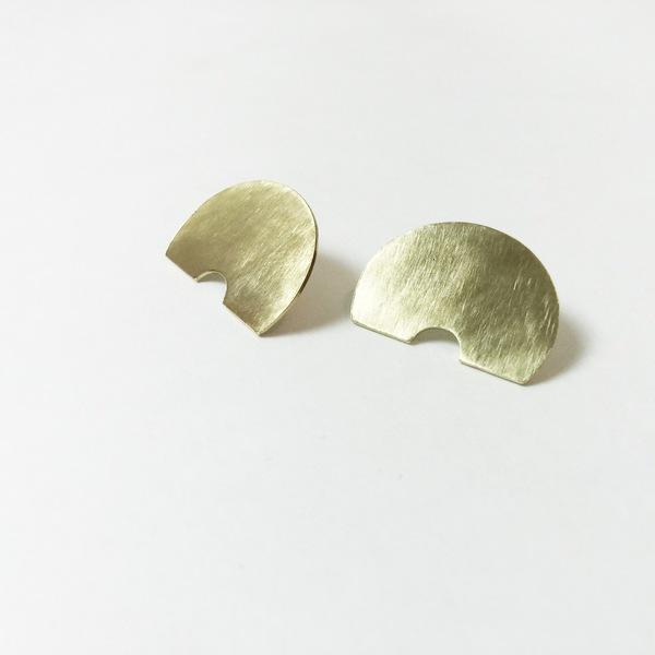 Kiki Koyote Aurora Flat Earrings