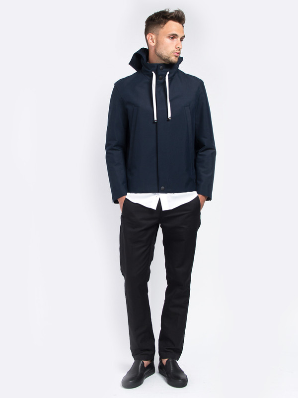 Men's Carlos Campos Hooded Canvas Jacket